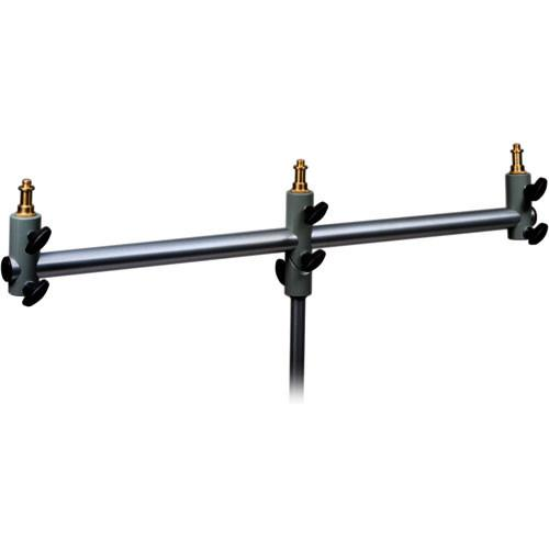 Manfrotto 154 Triple Microphone Holder Bar Black