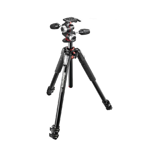 Manfrotto 055 Alu 3 Section + Xpro 3 Way Head