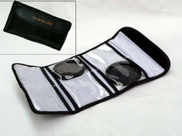 Marumi Filter Case Medium - 52mm 6Pcs
