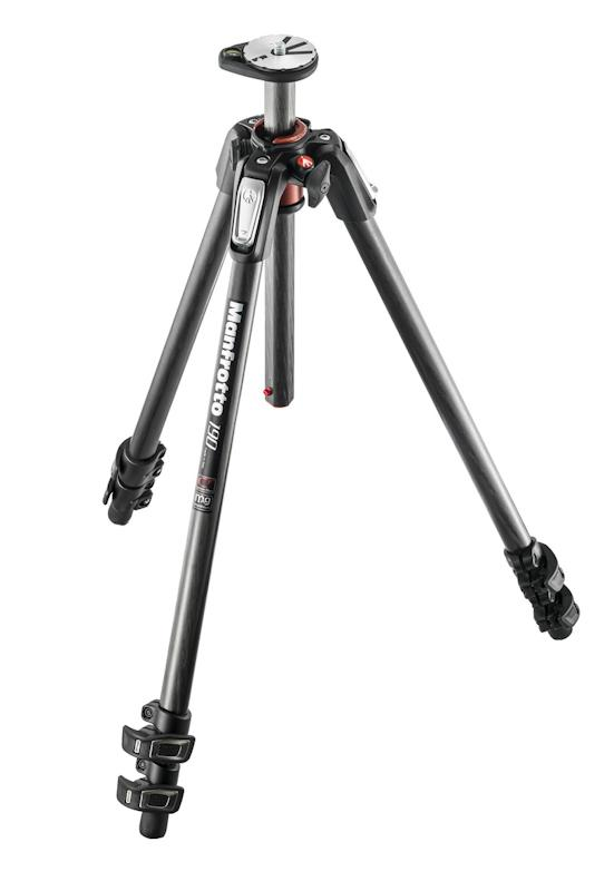 Manfrotto 190Cxpro3 Carbon 3 Section Tripod