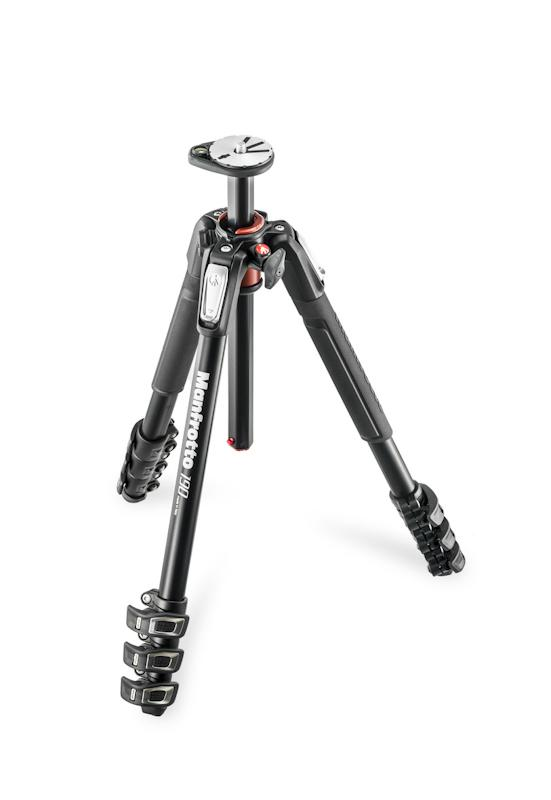 Manfrotto 190 Xpro4 Tripod Alu 4 Section
