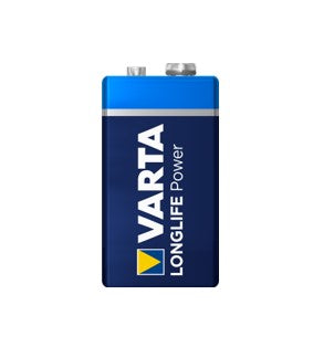Varta Alkaline Longlife Power 9V (72 Pack)