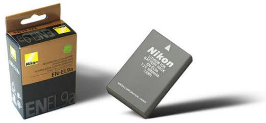 Nikon EN-EL9A Li-Ion Battery