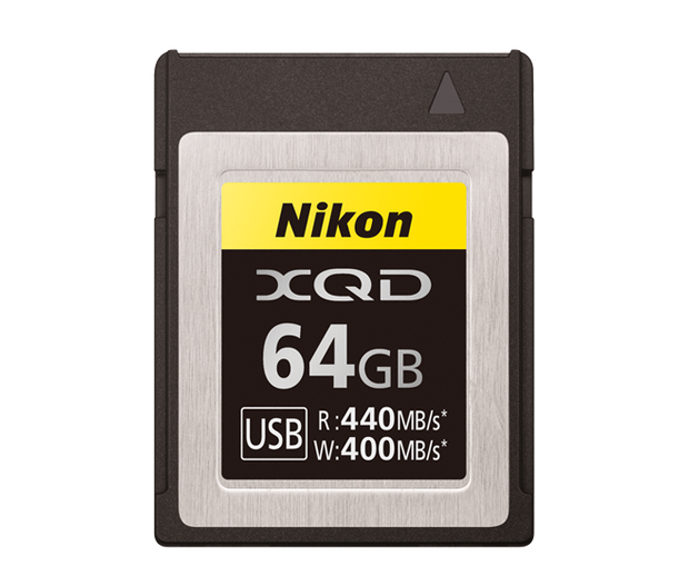 Nikon XQD 64GB 400MB/S Memory Card