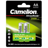 CAMELION ALWAYSREADY RECHARGEABLE AA