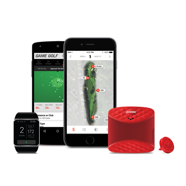 Gamegolf Live GPS Golf Shot Tracking System