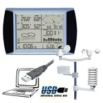 Weather station nz touch panel solar