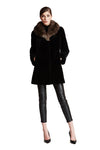 Full Skin Sheared Mink Coat