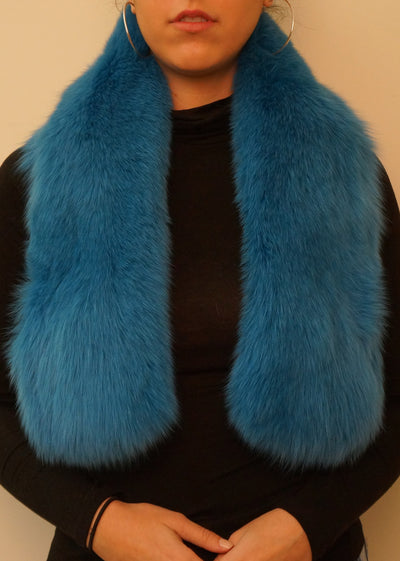 Fox Pull Through Scarf/Collar