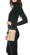 Full Skin Mink Cellphone Pouch