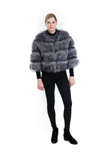 Faux Fur Short Jacket