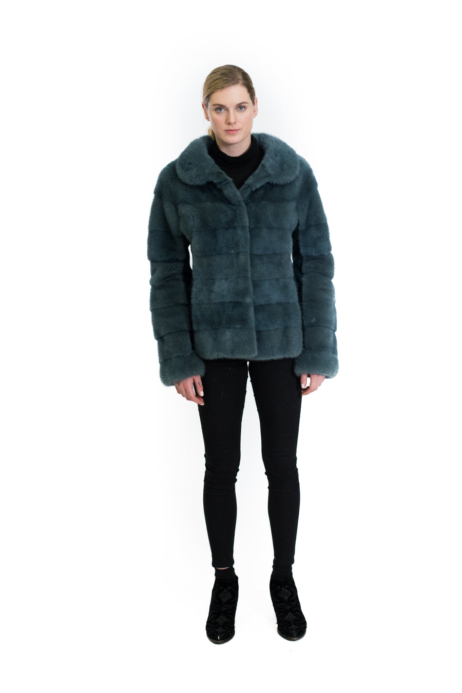 Mink Jacket with Shearling