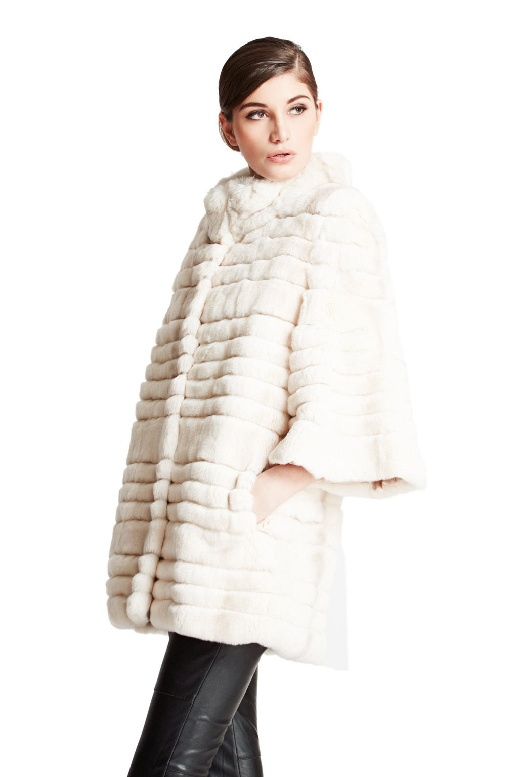 Oversized Full Skin Rex Coat