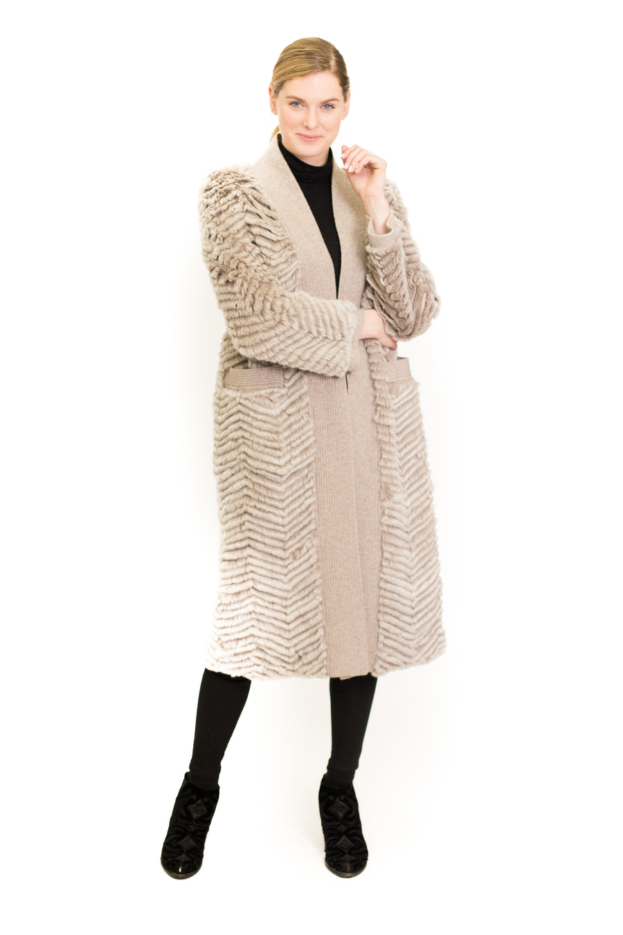 Rex Rabbit Long Cardigan