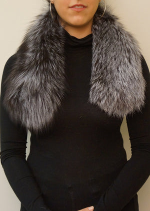 Silver Fox Scarf/Collar
