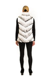 Reversible Rex Rabbit Down Vest