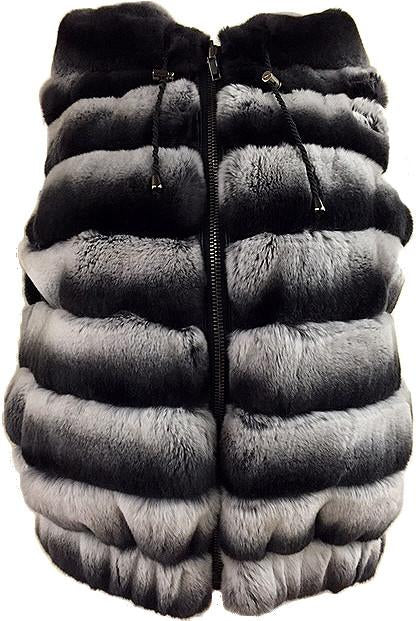 Rex Rabbit Reversible Hooded Vest