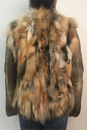 Fox and Rex Rabbit Coat