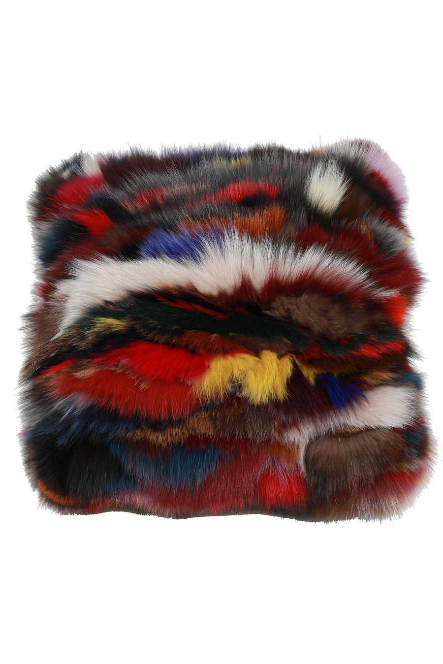 Home Collection - Fox Fur Pillow with Insert