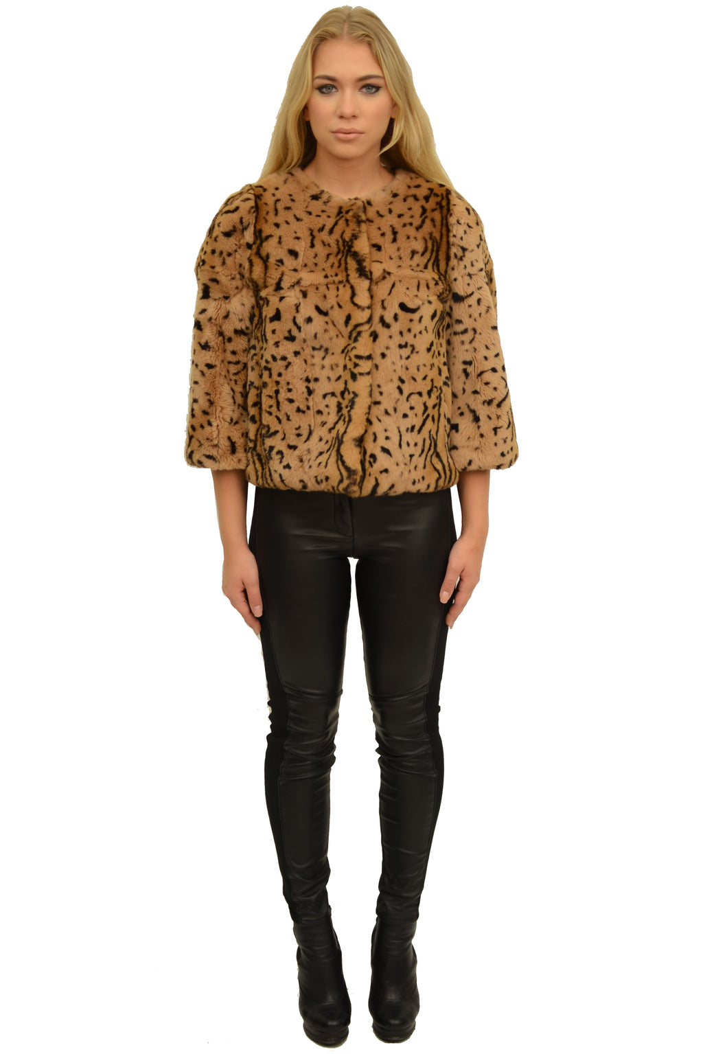 Full Skin Rex Bolero in Animal Print