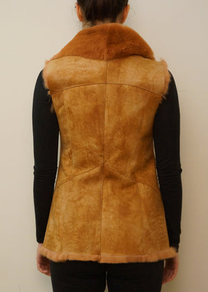 Rex Rabbit and Shearling Vest