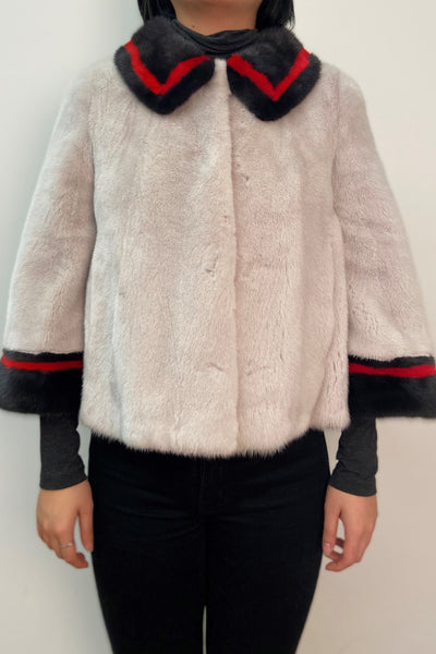 Mink Short Coat
