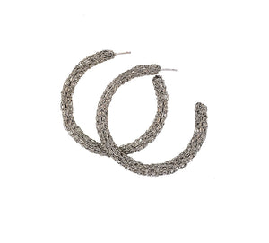 All SilverHand Crochet Hoops
