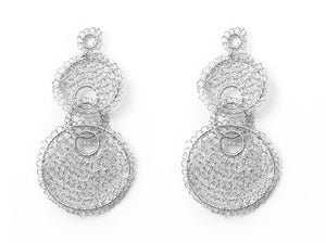 Silver Favorite Crochet Earring