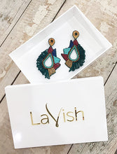 Load image into Gallery viewer, Emerald Devotion Earrings