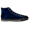 High Top Dark Blue Turtle Sneakers