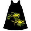 Leafy Sea Dragon Couple Kid's Dress
