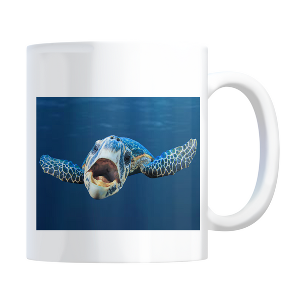 Cranky Turtle Coffee Mugs