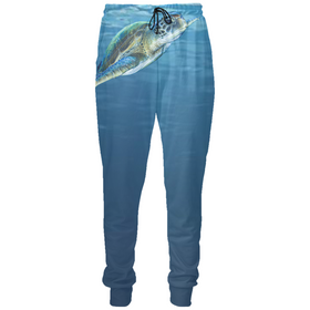 Majestic Swimming Turtle Joggers