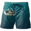 Swimming Turtle Swim Shorts