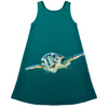 Cool Dude Turtle Kid's Dress