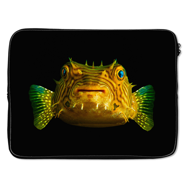 Porcupine Pufferfish Laptop Cases