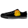 Yellow Spotted Box Fish Low Top Sneakers Flip Flops