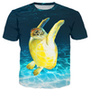 Jumpy Turtle Kid's T-shirts