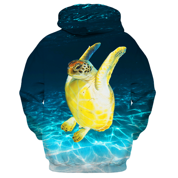 Jumpy Turtle Women's Zip-up Hoodie