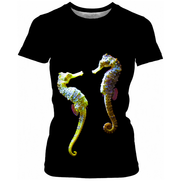 Seahorse Couple Women's T-shirts
