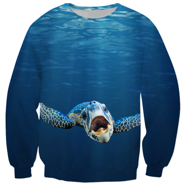 Cranky Turtle Men's Sweatshirts