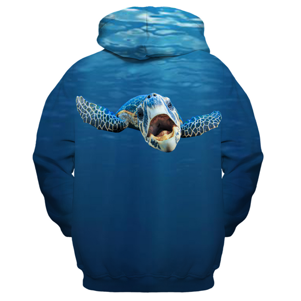 Cranky Turtle Kid's Zip-up Hoodie
