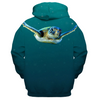 Swimming Turtle Kid's Sweatshirt