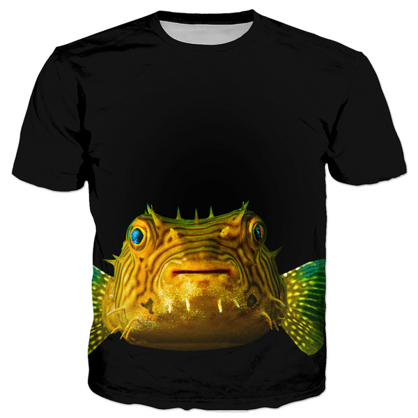 Porcupine Pufferfish Men's T-shirt