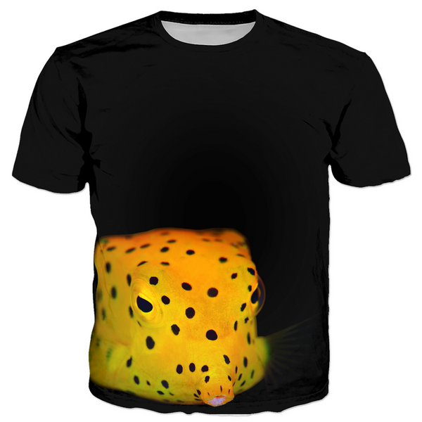 Yellow Spotted Box Fish Men's T-shirts