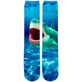 Scary Water Socks - Crew Knee High Socks