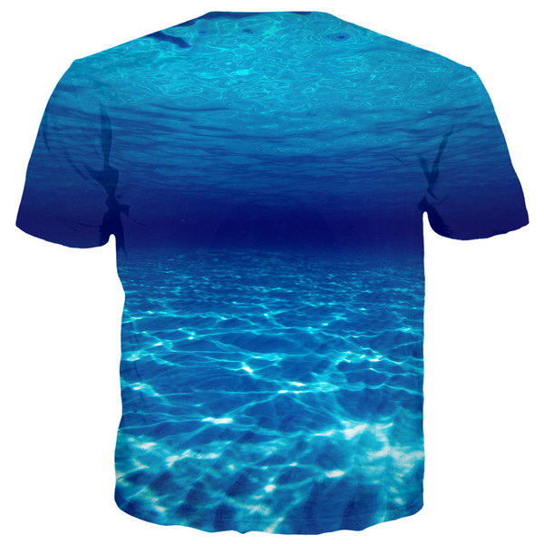 Scary Water Men's T-Shirt