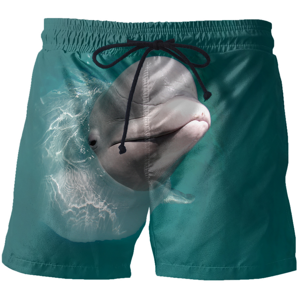 Beluga Whale Swim Short