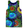Multi Colored Zoanthid Garden Women's Tank Top