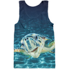 Multi Colored Zoanthid Garden Kid's Tank Top